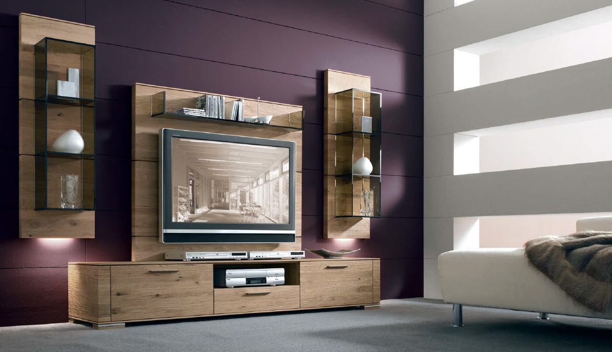Mueble para tv romero carpinter a for Muebles de diseno moderno para tv